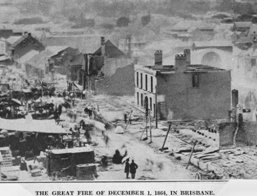 November Meeting – Year of Disaster: Brisbane 1864 – date change to 18th Nov