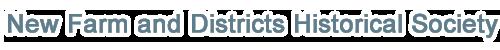 New Farm and Districts Historical Society | Brisbane | Australia