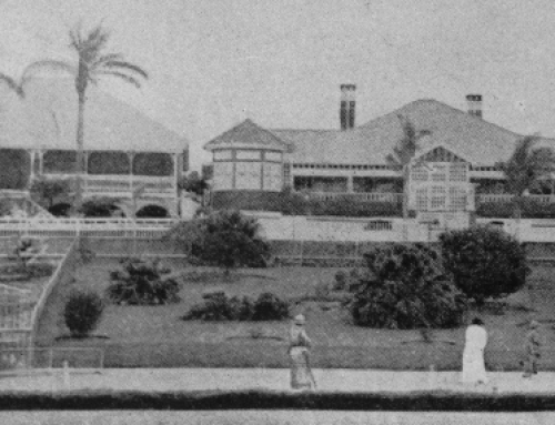 New Farm Croquet Club 1921