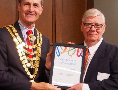 Achievement Award for Ross