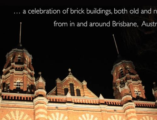 Reflecting on Brisbane bricks…