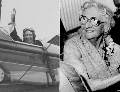 Flying High: The remarkable life of Aviatrix Lores Bonney